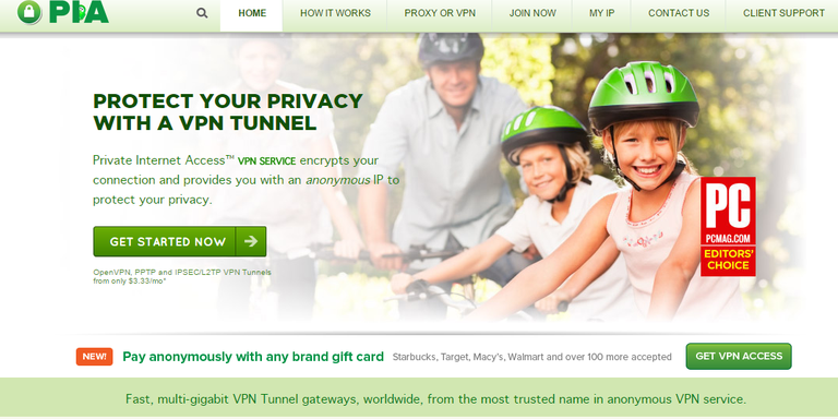 Private Internet Access (PIA) VPN