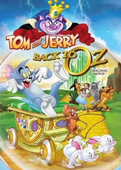 Tom & Jerry Back to Oz (2016) DUAL TR-ENG DVD 9