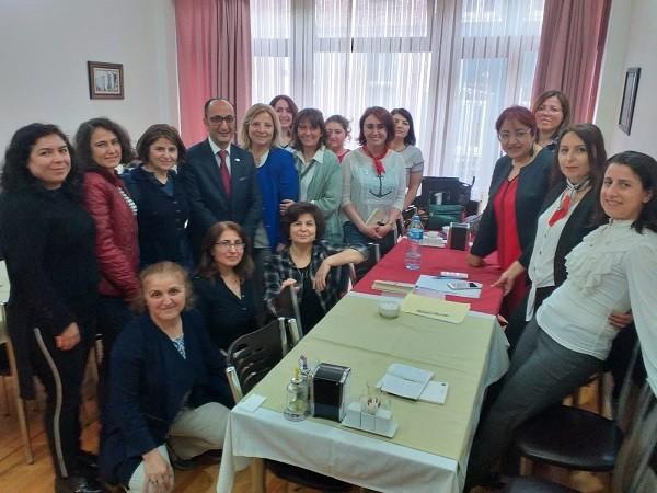 Kadın Muhasebeciler Derneği  her ay düzenledikleri etkinlik bu sefer iki ana başlık altında gerçekleştirildi.