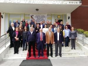 İstanbul Yüksek Ticaretliler Eşgüdüm Toplantıda Bir Araya Geldiler.