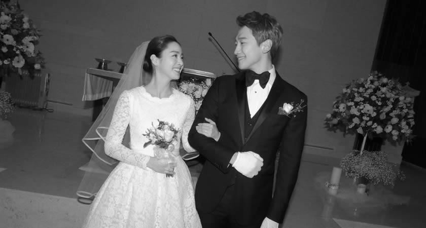 Oyuncu Kim Tae-Hee ve Oyuncu-Şarkıcı Rain Evlendi