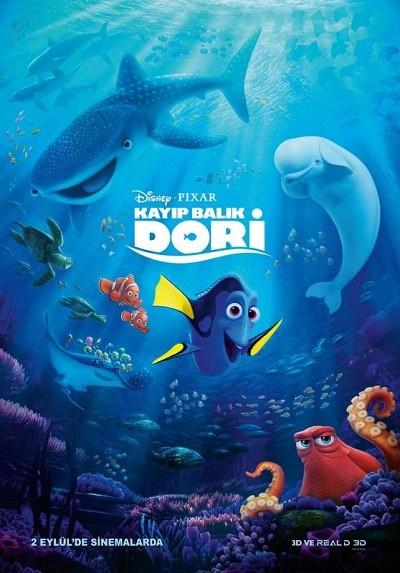 Kayıp Balık Dori - Finding Dory 2016 BRRip XViD Türkçe Dublaj - Tek Link Film indir
