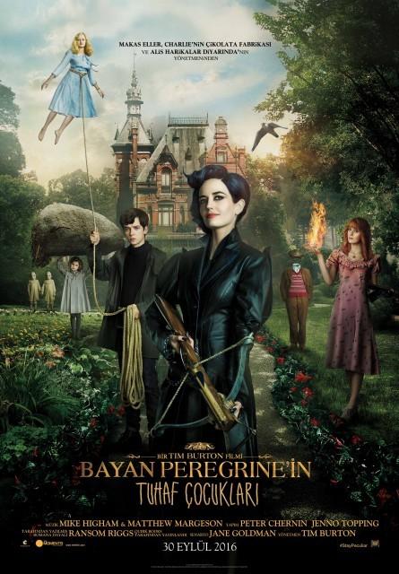 Bayan Peregrine'in Tuhaf Çocukları Türkçe Dublaj izle – Tek Parça