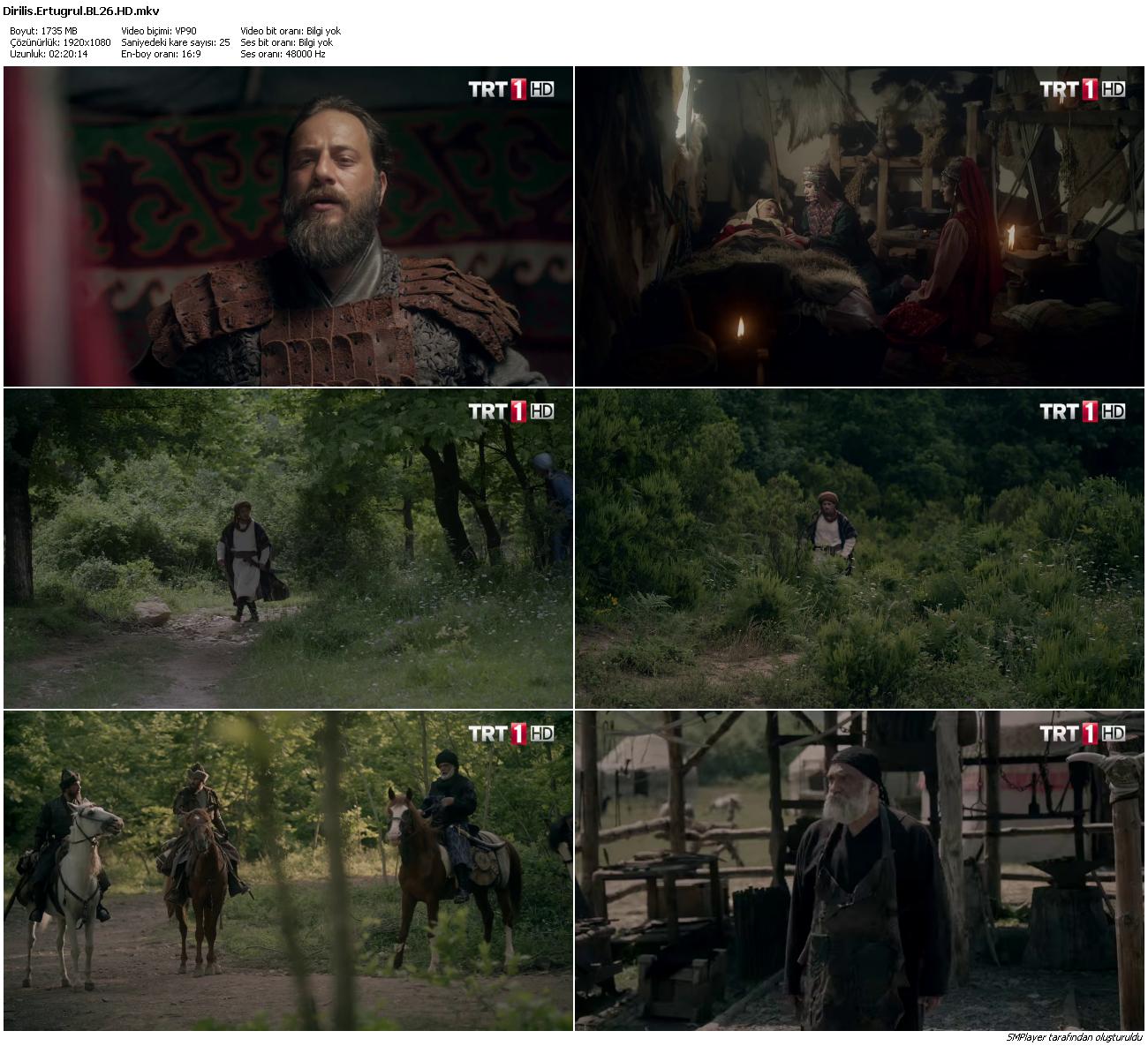 Diriliş Ertuğrul 78.Bölüm (HD - x264 - 1080p) Tüm Bölümler - VKRG