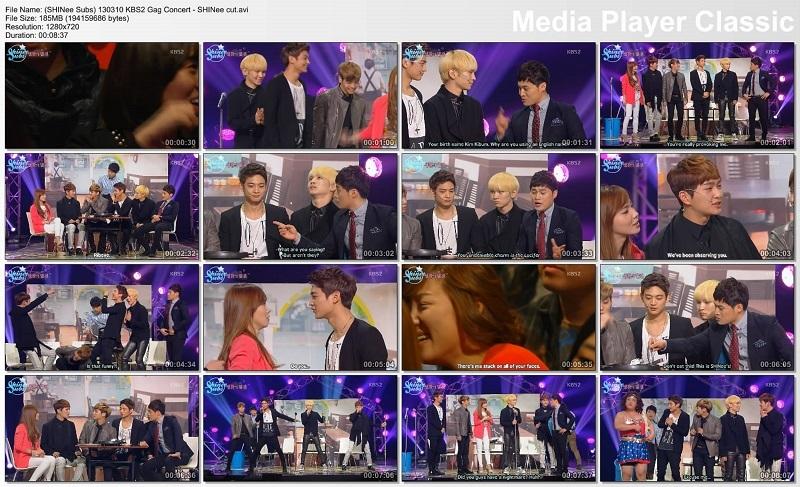 [TV Prog] SHINee KBS2 Gag Concert - T�rk�e Altyaz�l�