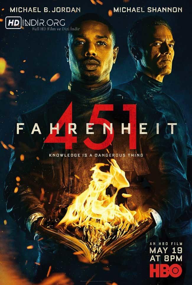Fahrenheit 451 indir (2018) Türkçe Dublaj m1080p HD Tek Link
