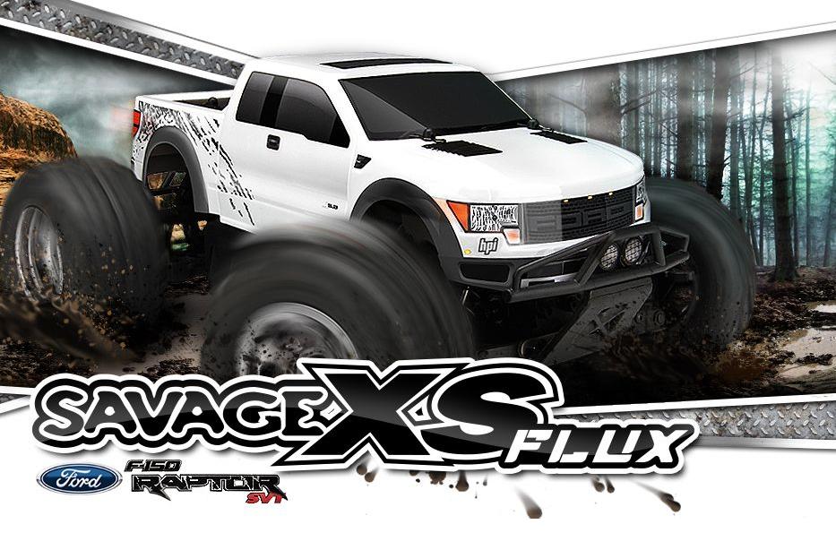 Hilalhobbyland | Her türlü zorlu koşula çözüm : HPI Savage XS Flux Ford Raptor !!