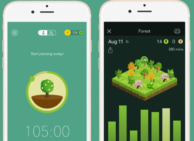 ios forest