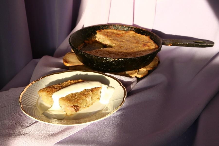 Patates krep reçetesi: Beyaz Rusyada nasıl pişirilir