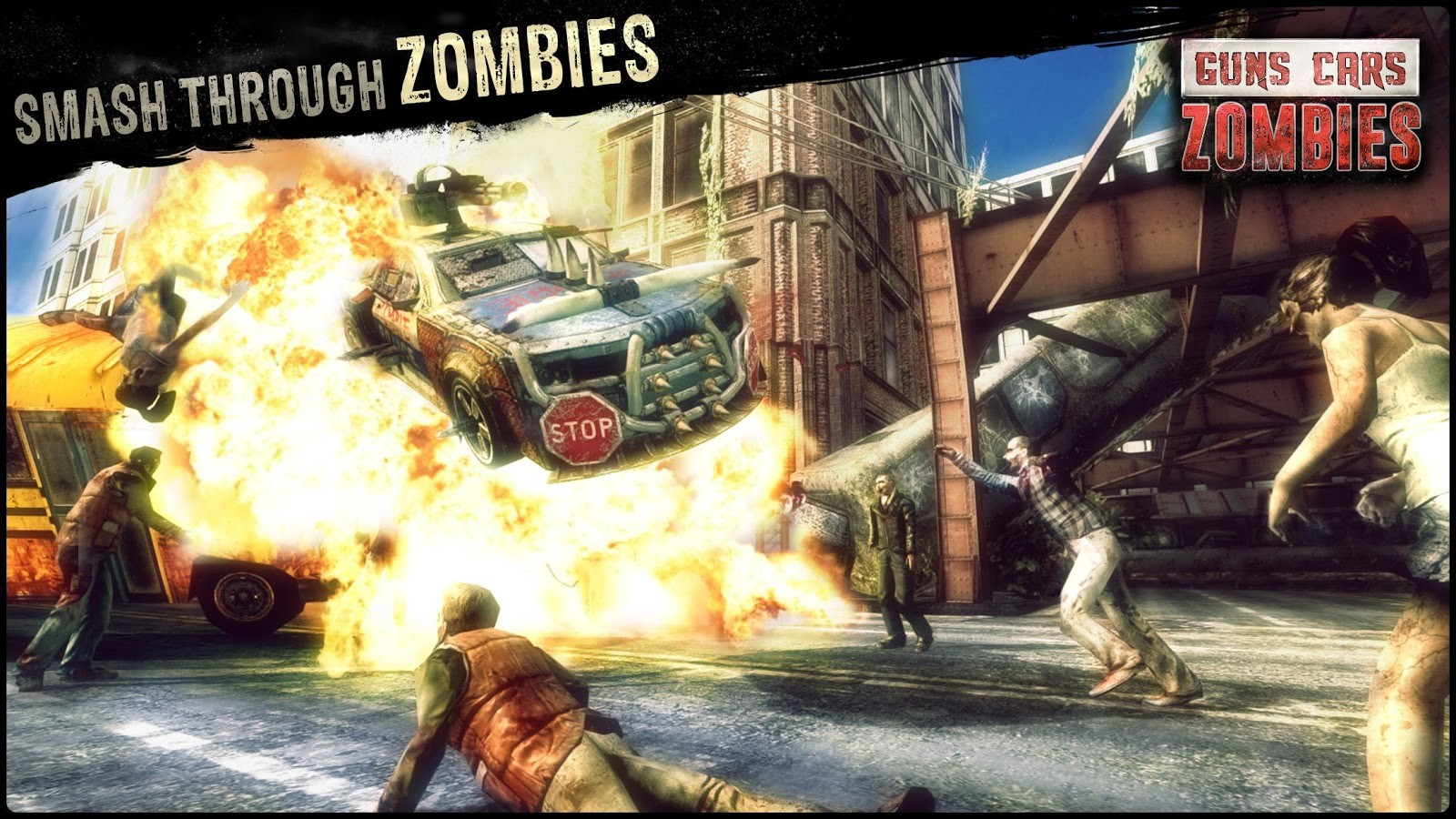 Guns, Cars, Zombies Apk