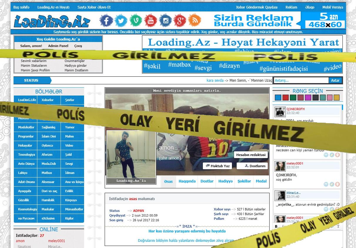 Şok!Şok!Şok!Admin Polis əlinə düşərsə=)