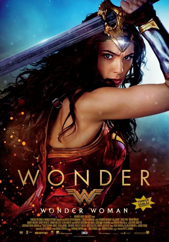 Wonder Woman (2017) BLURAY Türkçe Dublaj Seçenekli Film indir