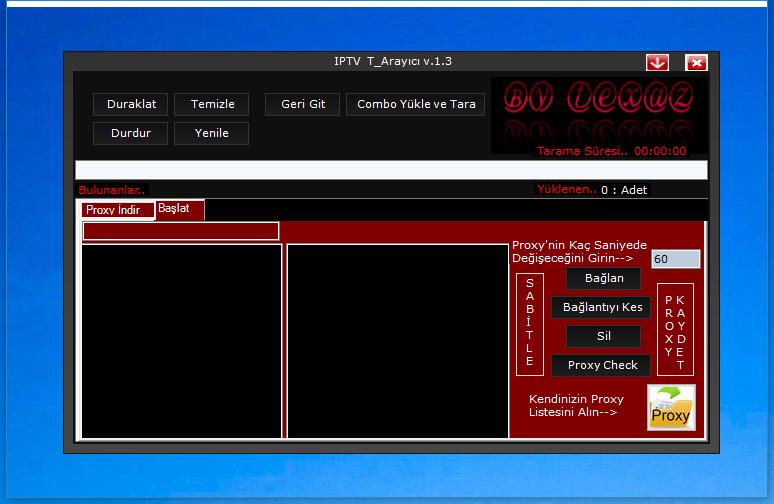 IPTV T_Arayıcı v 1 3 (Panel Scanner) - Turkhackteam org/net