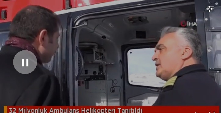 32 Milyonluk Ambulans Helikopter