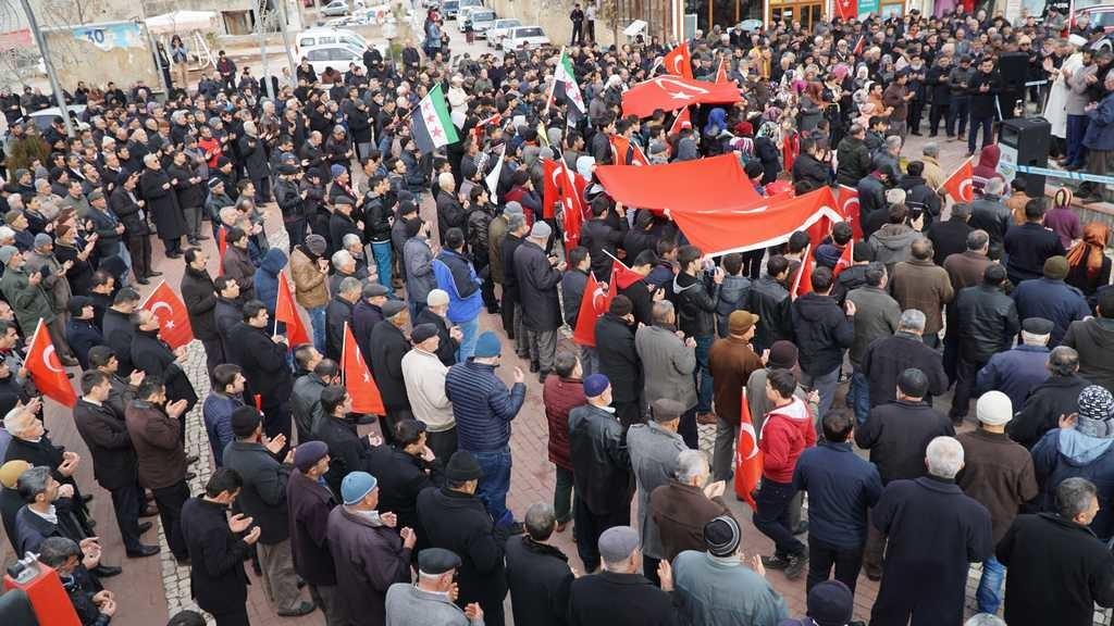 Halep'teki Sivillere Yönelik Saldırılara Tepki