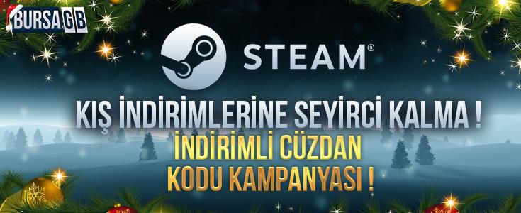 Steam Kış İndirimlerine Seyirci Kalma !