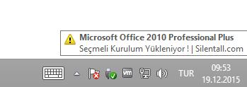 Microsoft Office 2010 Pro Plus Sp2 VL TR | Kasım 2020 | Katılımsız