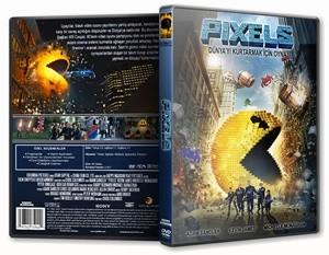 Pixels | 2015 | DVD-9 | DuaL TR-EN - Tek Link