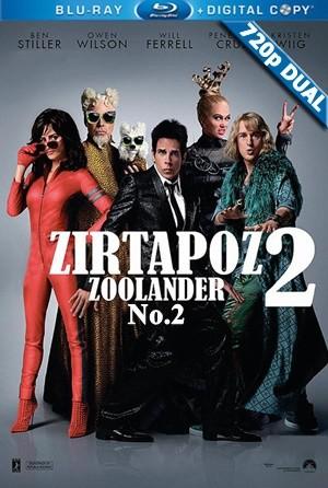 Zirtapoz 2 - Zoolander 2 | 2016 | BluRay 720p x264 | DUAL TR-EN - Teklink indir