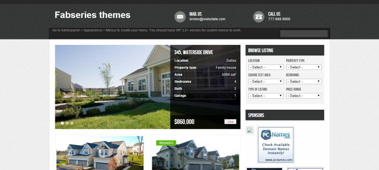WordPress Avenue Mobil Uyumlu Responsive Emlak Teması Ücretsiz