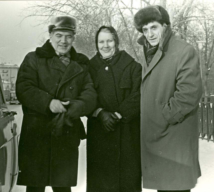 Ekber Babayev Vera Tulyakova Hikmet Abidin Dino Moskova