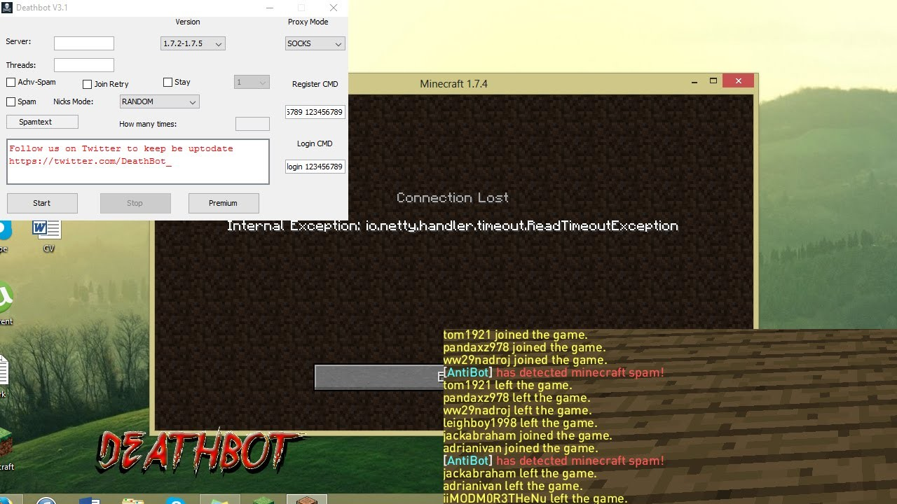 Minecraft Server Hackleme (Yeni Yöntem) 1 7/1 8/1 9/1 10