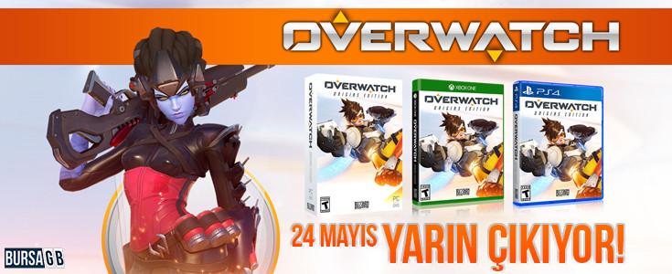 Overwatch 24 Mayısta  ( Yarın )  Çıkıyor