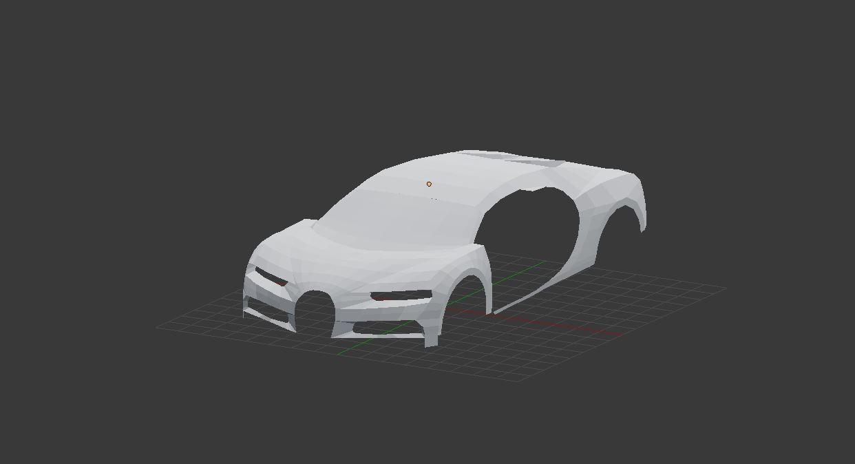Car Render Challenge 2017-Bugatti Chiron