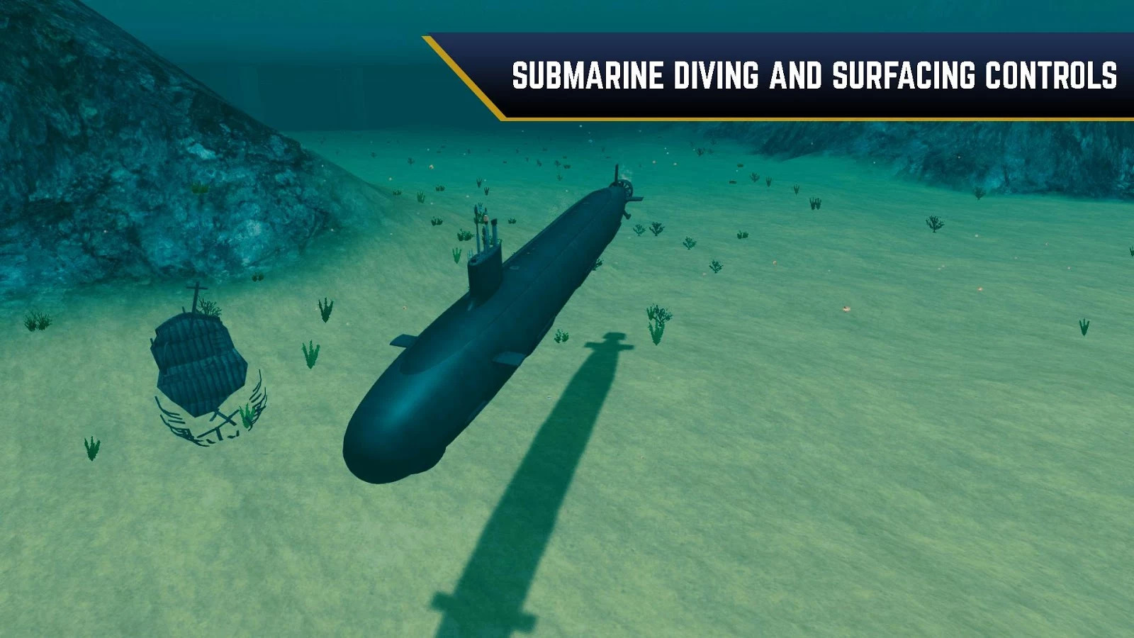 Enemy Waters : Submarine and Warship battles Android