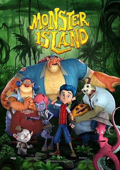 Canavar Adası – Monster Island 2017 WEB-DL XviD Türkçe Dublaj indir