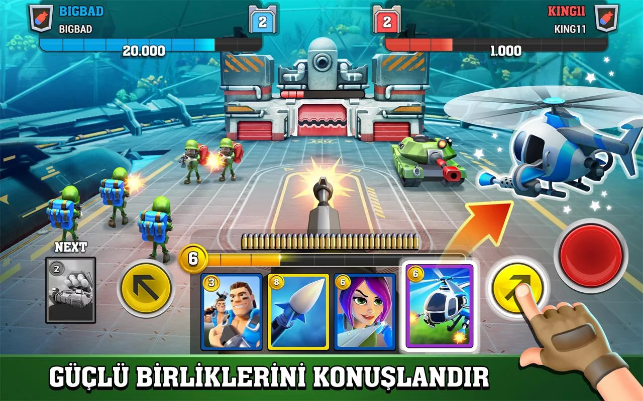 Mighty Battles Android