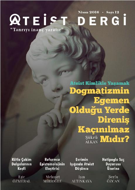 Ateist Nisan 2016 PDF Dergi indir