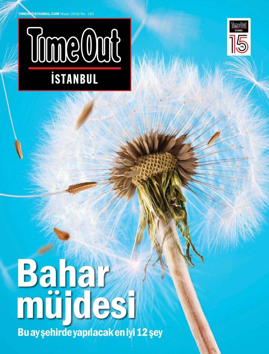 Time Out İstanbul Nisan 2016 PDF Dergi indir