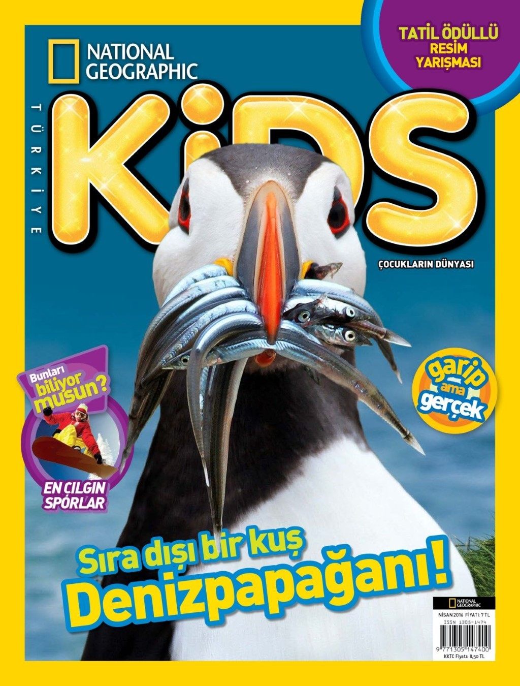 National Geographic Kids Nisan E-dergi indir Sandalca.com