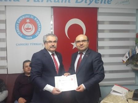 Çankırı TÜRKAV Prof.Dr. Ömer Çakır'ı Konuk Etti