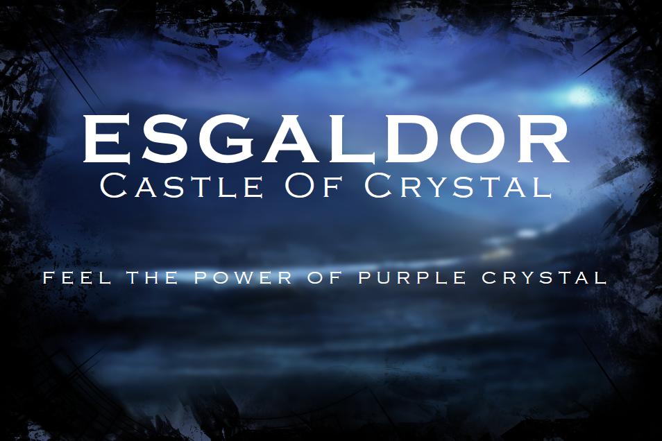 Esgaldor - Castle Of Crystal Minecraft Map