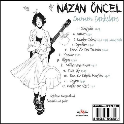 Nazan Öncel - Durum Şarkıları (2018) Full Albüm İndir