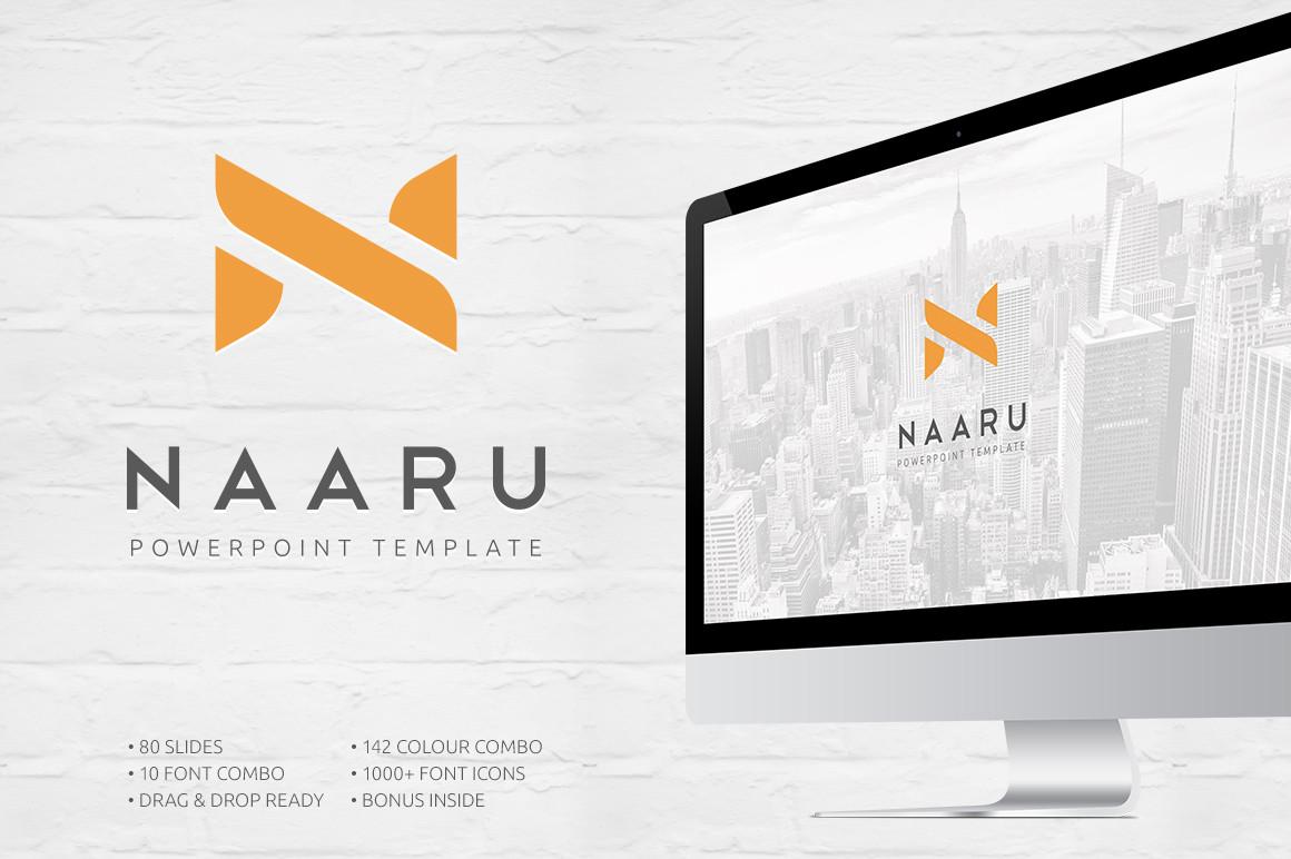 Naaru - PowerPoint Template