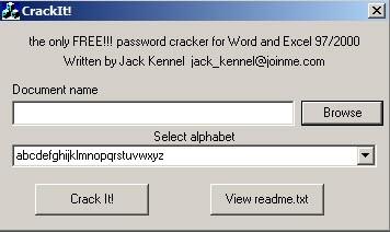 ofis şifre kurtarma