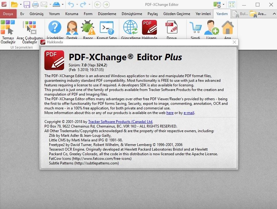 PDF-XChange Editor Plus 7.0.324.2 x86.x64 Türkçe   Katılımsız