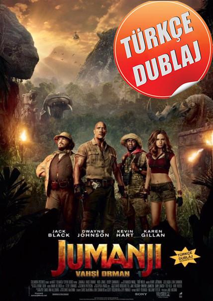 Jumanji: Vahşi Orman 2017 (BRRip) Türkçe Dublaj Film İndir
