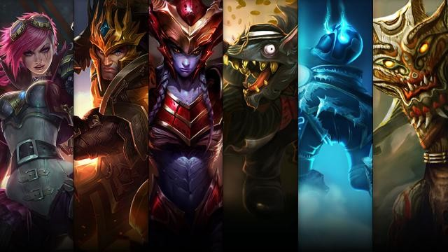 League of Legends Sampiyon ve Kostüm Indirimleri