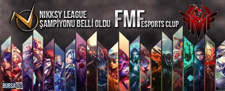 Nikksy League Şampiyonu FMF Esports Club oldu!