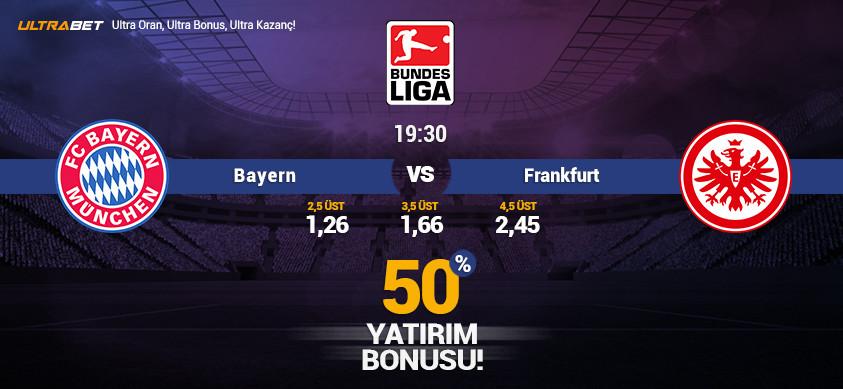Bayern vs Frankfurt – Ultrabett'e Canlı İzle
