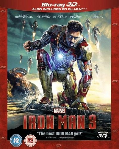 Demir Adam 3 – Iron Man 3 2013 ( Kota Dostu 3D 1080P ) Türkçe Dublaj Tek Link indir