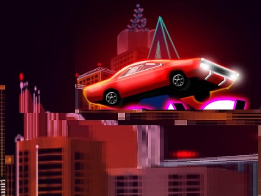 Las Vegasta Trafik Oyunu