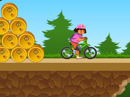 Dora Bisiklet Oyunu
