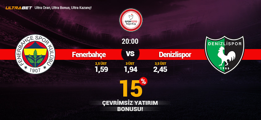 Fenerbahçe - Denizlispor Canlı Maç İzle
