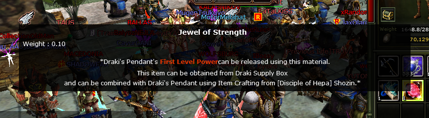JEWEL OF STRENGTH (ALTAR)