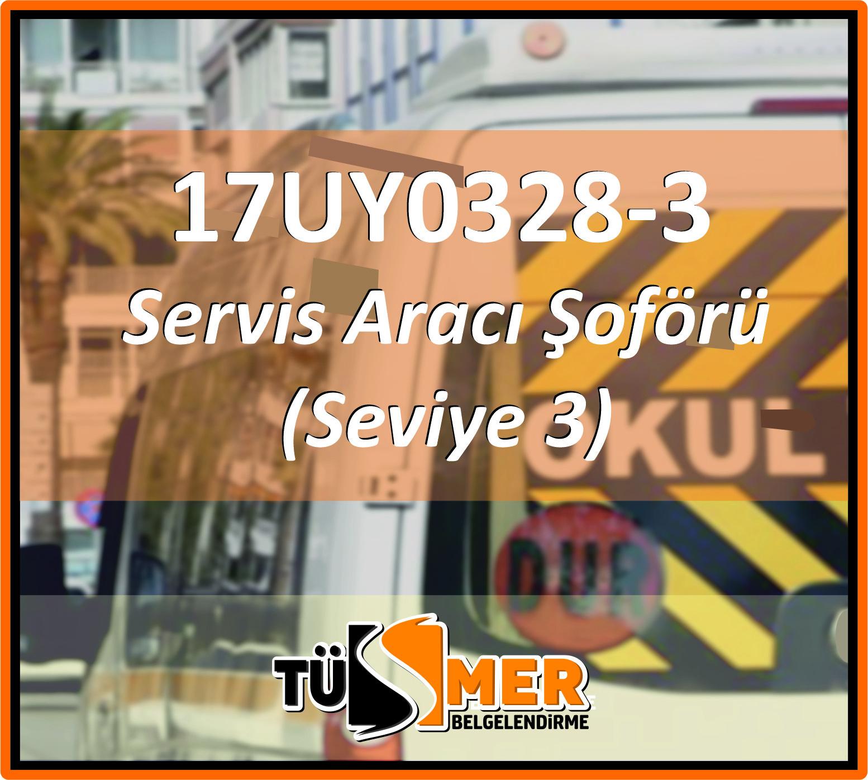 17UY0328-3 Servis Aracı Şoförü (Seviye 3)